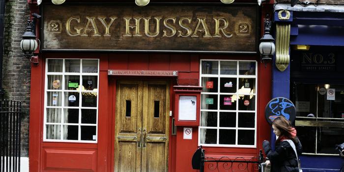 Gay Hussar - Pub in Soho