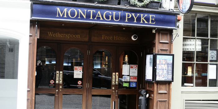 Montagu Pyke - Pub in Soho