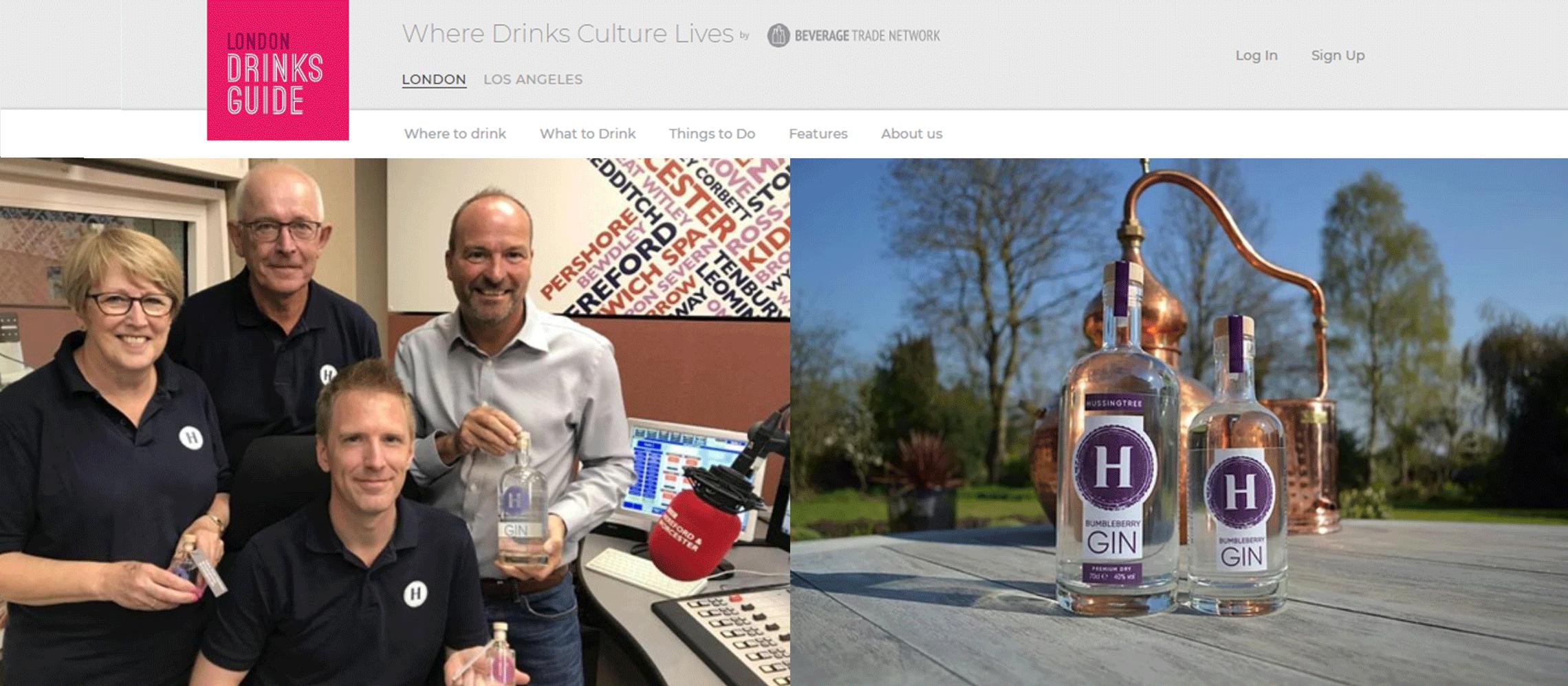 Photo for: Hussingtree Gin - Award-Winning Premium Distilled Worcester Gin
