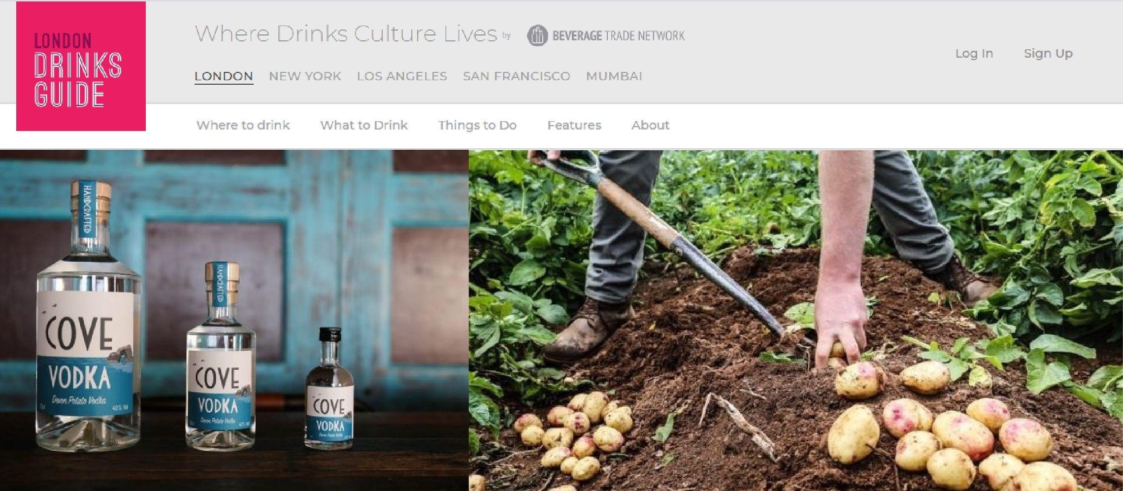 Photo for: Devon Cove Produce - Creating Exceptional Vodka