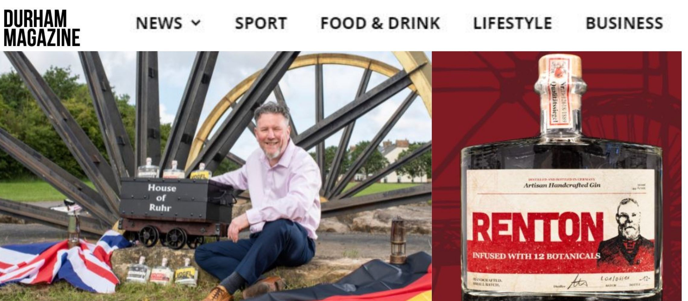 Photo for: House of Ruhr Wins Silver Medal at London Spirits Competition via Durham Magazine PR