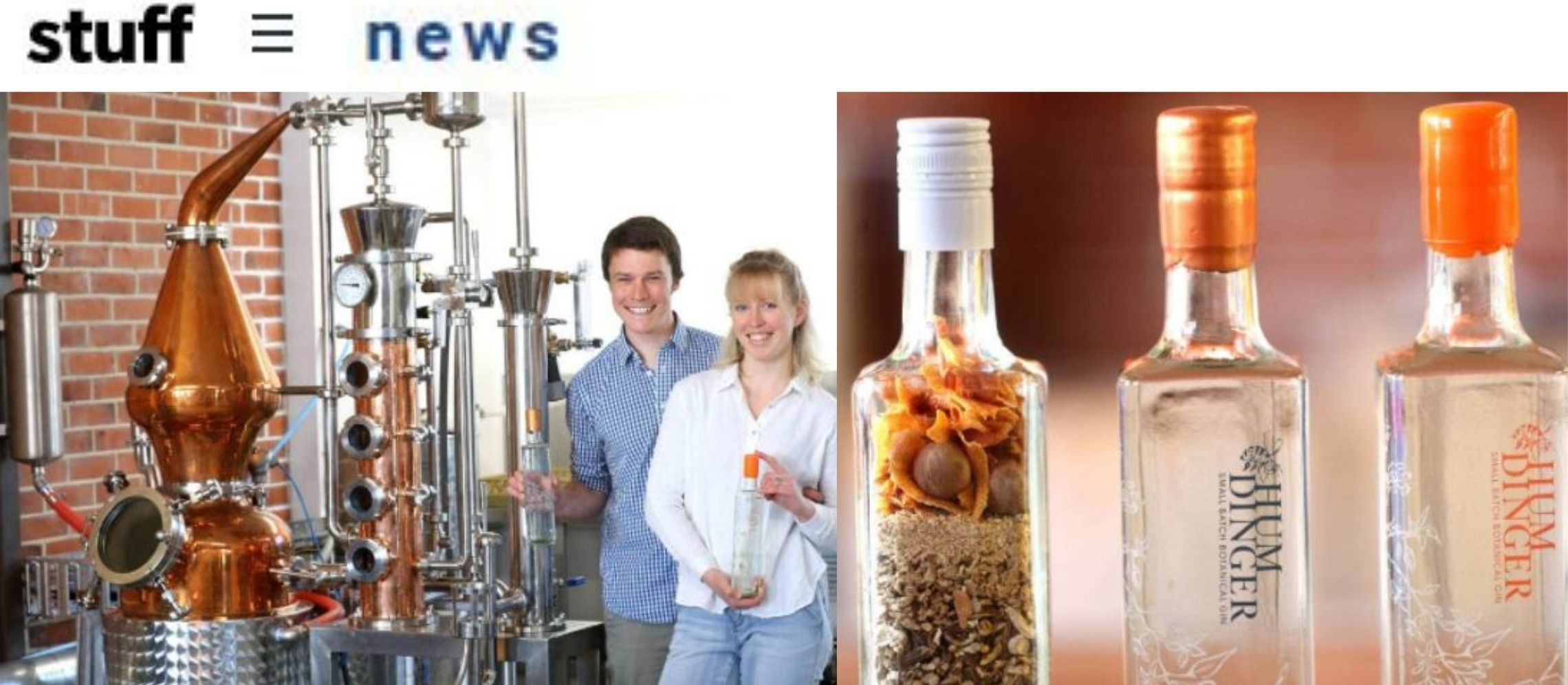 Photo for: Geraldine gin distillery awarded silver medals in international competition via Stuff PR
