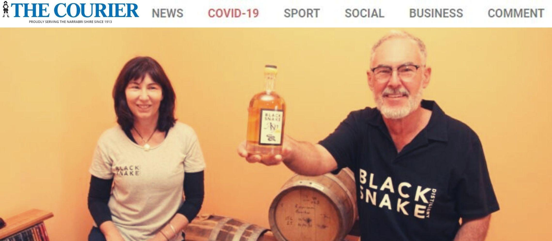 Photo for: Narrabri distillers win silver medal at London Spirits Competition 2021 Via Narrabri Courier PR