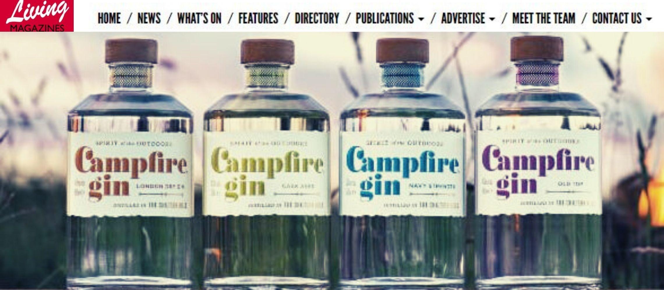 Photo for: Campfire Gin Wins Four Medals Via Living Magazines PR