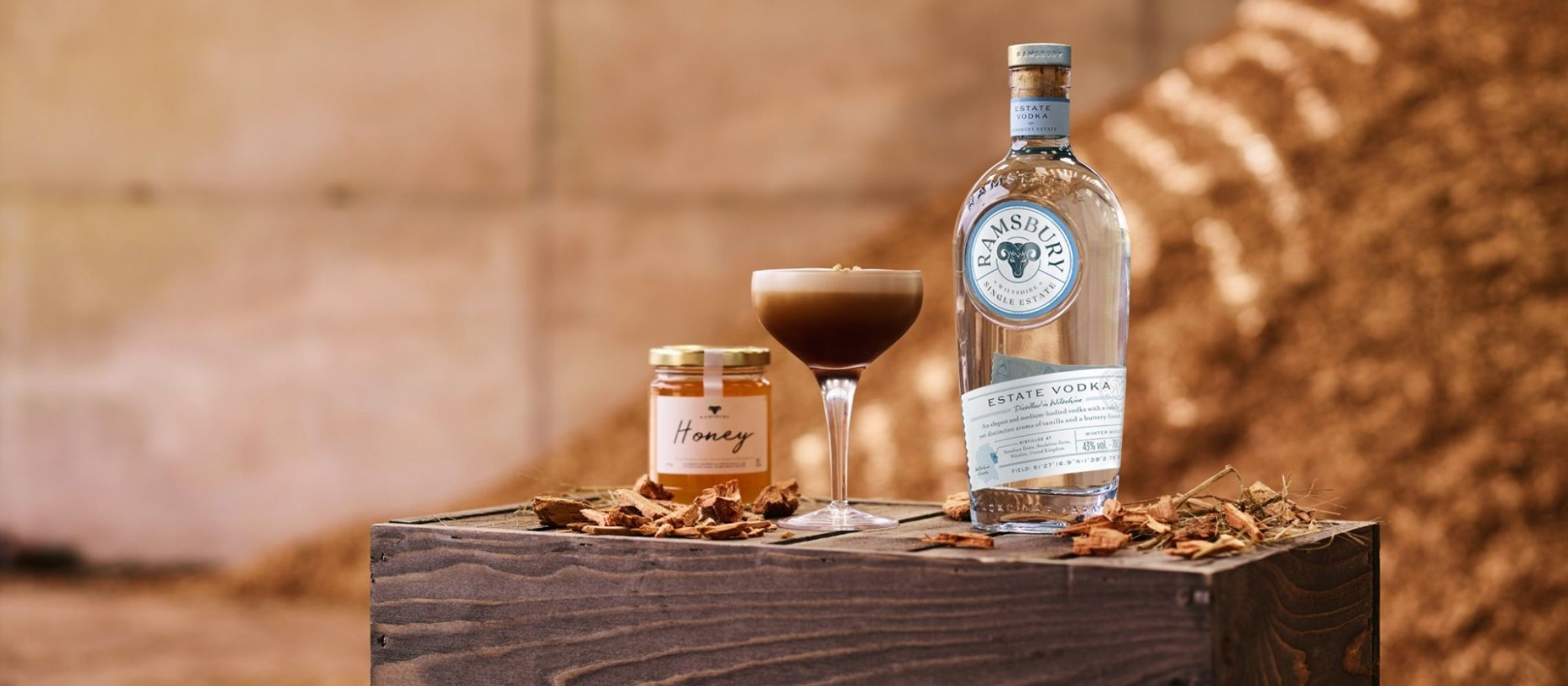 Photo for: Ramsbury Vodka On What It's Like Being Named Best Spirit In The World