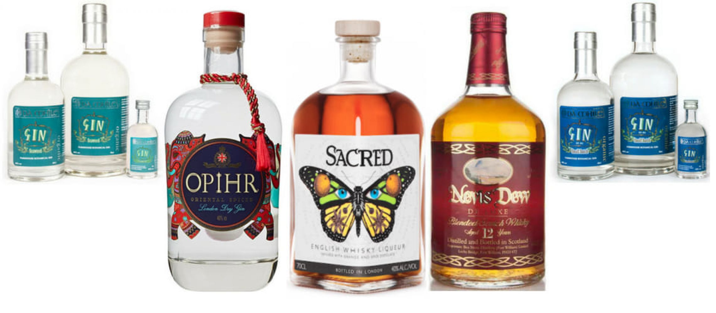 Photo for: Top 10 Spirits Brands of UK that You Should Try in 2018