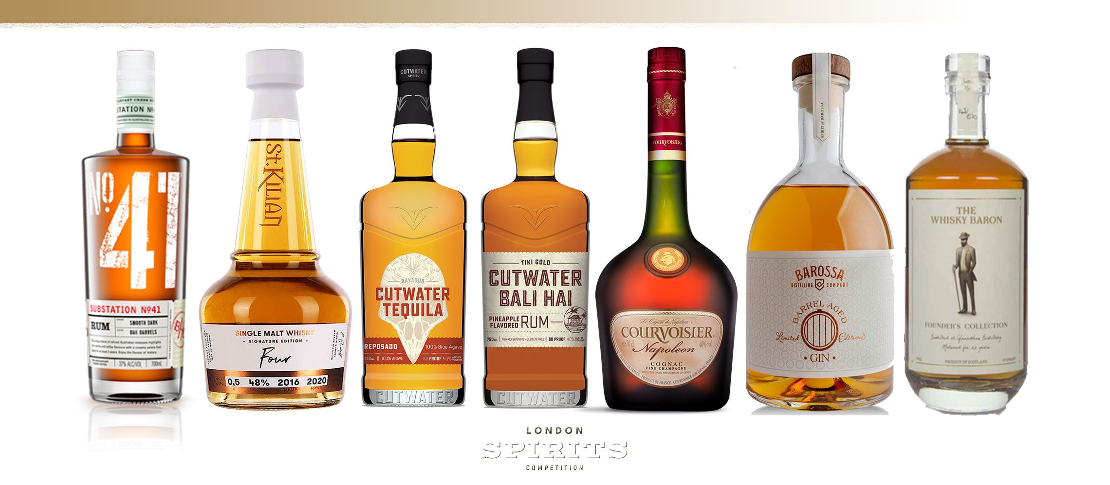 Photo for: 10 Gold Winners At The 2020 London Spirits Competition