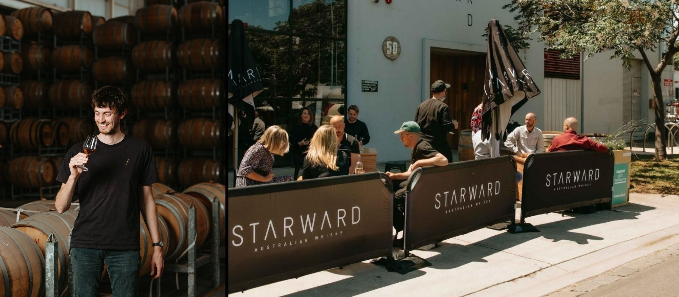 Photo for: How Starward Distillery works with bars and restaurants